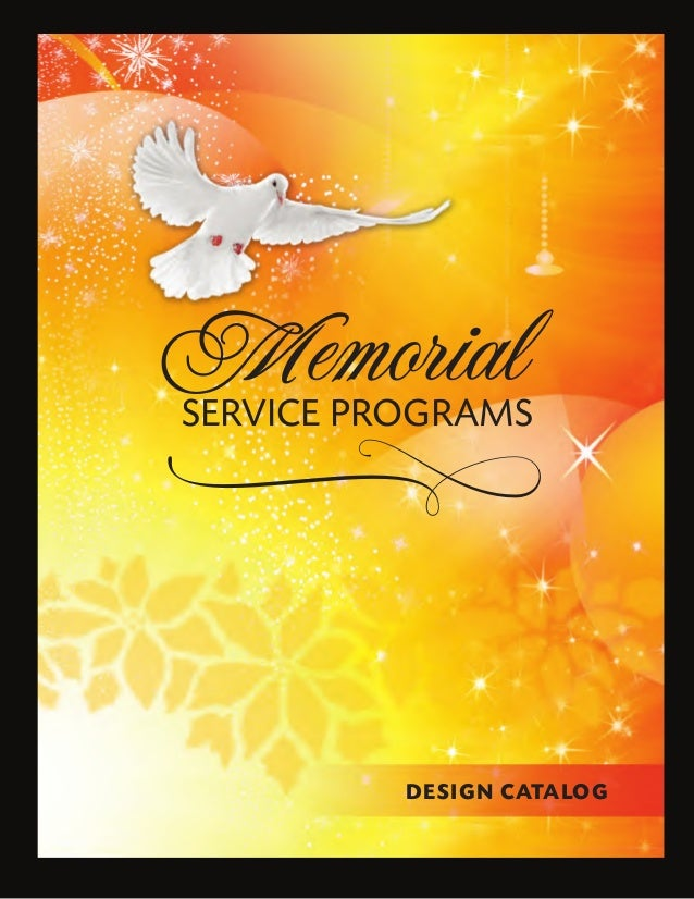 funeral programs templates download