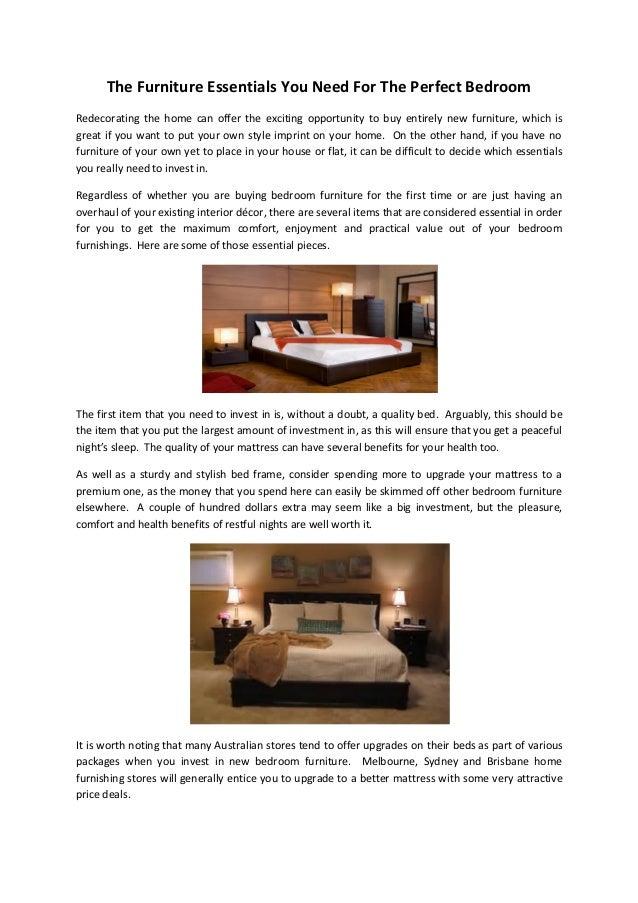 Bedroom Furniture Essentials perfect bedroom furniture essentials e intended design ideas