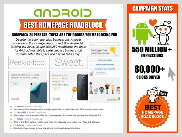 reddit Brands of the Year 2014 Slide 3
