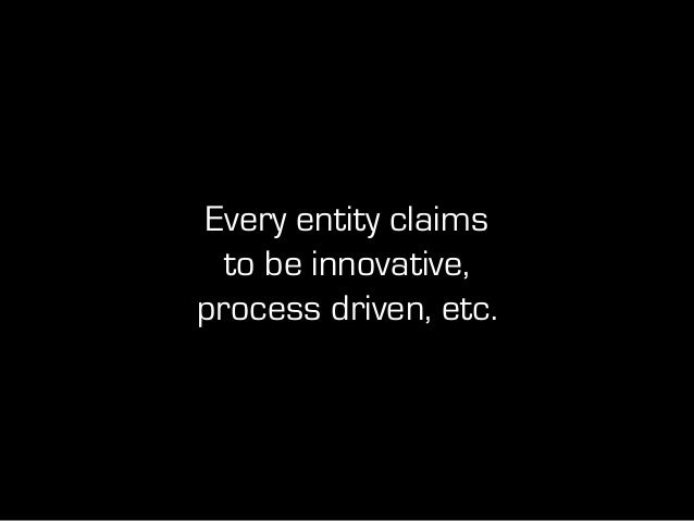 What are the historic barriers to real innovation?