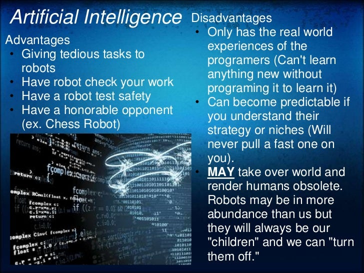 Artificial intelligence and the future of our work