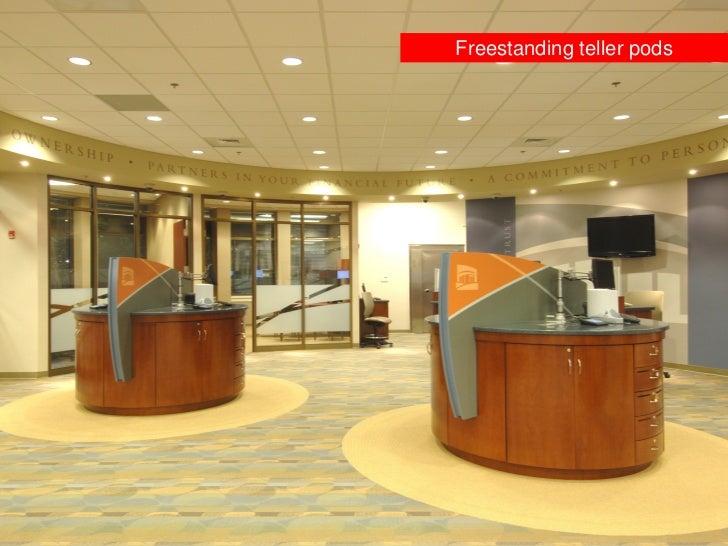 Freestanding Teller Pods