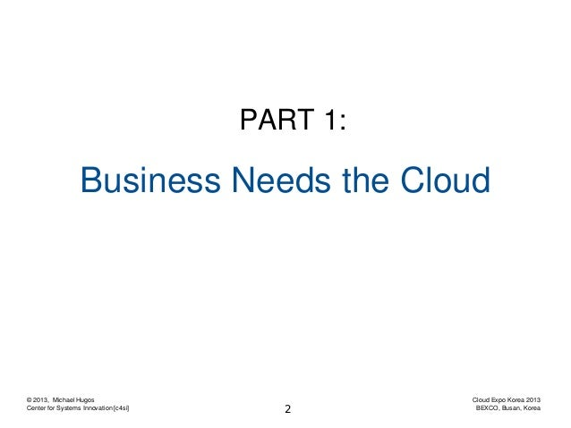 The Future of Cloud Computing - Outlook and Effects Slide 2