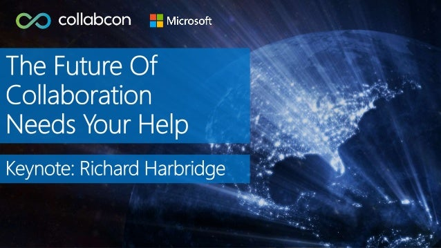 RICHARD HARBRIDGE My twitter handle is @RHarbridge, my blog is http://RHarbridge.com, and I work at SPEAKER | AUTHOR | SUP...