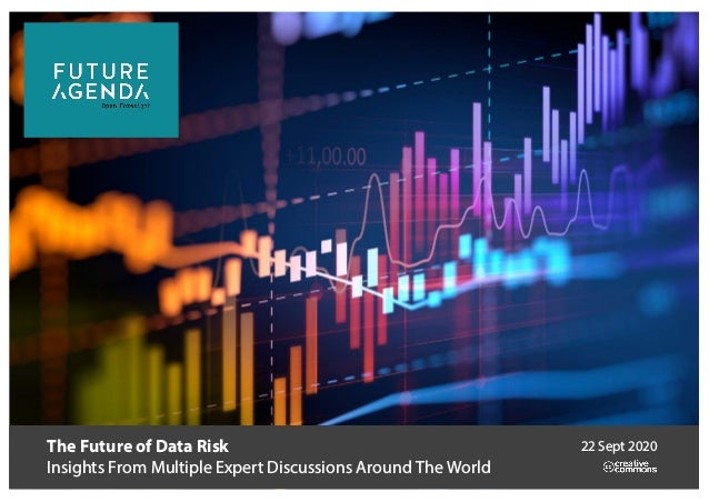 The Future of Data Risk Insights From Multiple Expert Discussions Around The World 22 Sept 2020