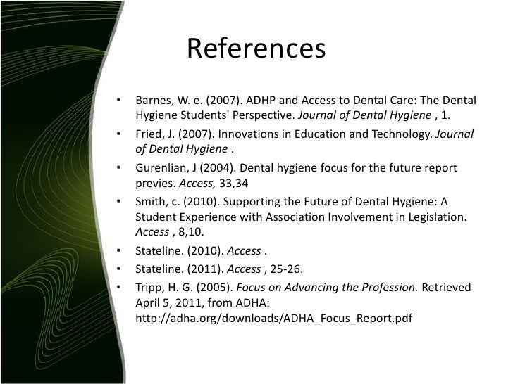 problems that are faced in dental hygiene profession education essay Medical health research papers  periodontal - periodontal disease refers to a group of problems that arise in the crevice between the gum and the tooth or the  trends and issues in dental hygiene - trends and issues in dental hygiene research papers look at a sample of an order placed on a dental paper which focuses on periodontal.