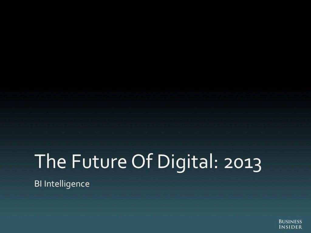 The future of digital