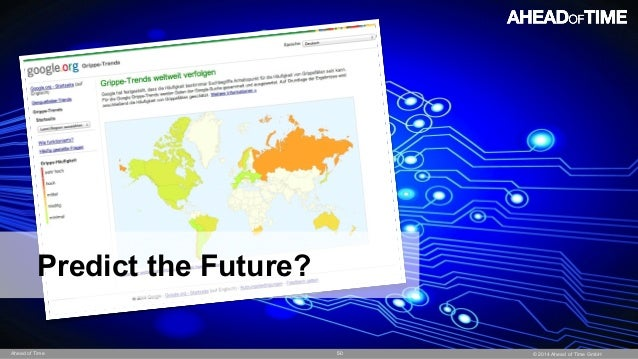 © 2014 Ahead of Time GmbHAhead of Time 50 Predict the Future?