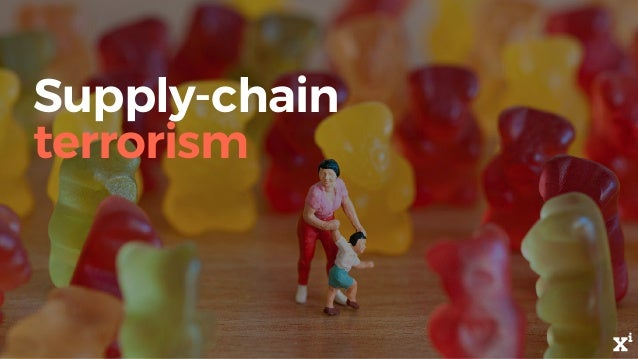 Supply-chain terrorism