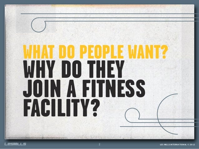 Why do people exercise