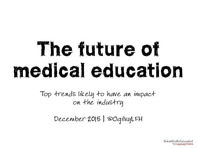 Top trends likely to have an impact on the industry December 2015 | @OgilvyLFH