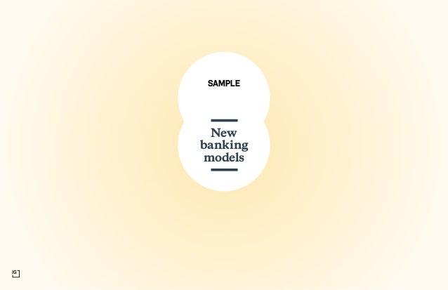 SAMPLE New banking models