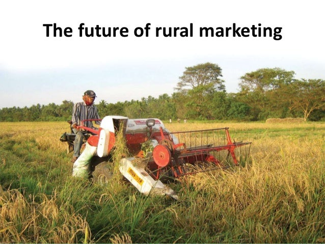 The future of rural marketing