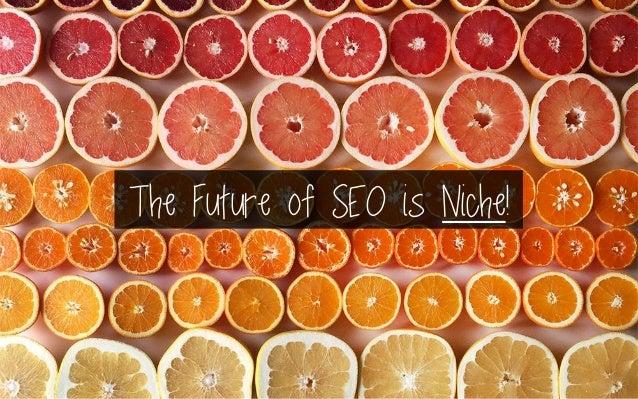 The Future of SEO is Niche!