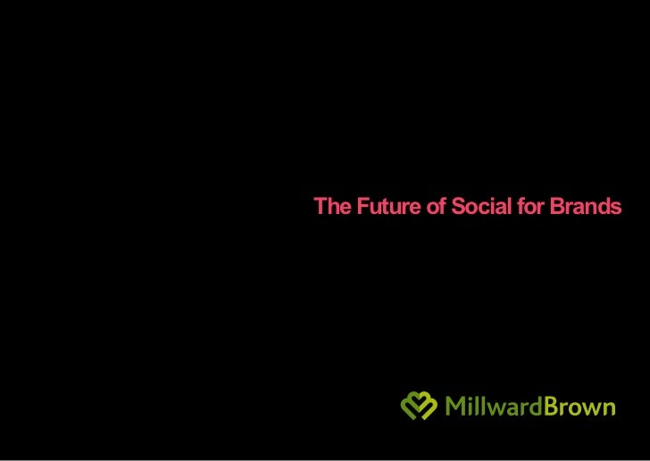 The Future of Social for Brands