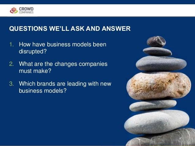 The Future of Business Models #FutureOf Slide 3