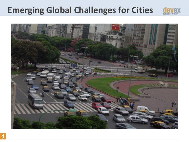 Emerging Global Challenges for Cities
