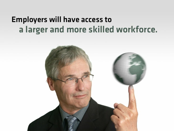Because,  the future of work is…     YOU