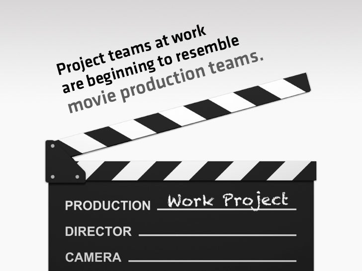 Independent individuals  with unique talents get   together to work on a    company's project.
