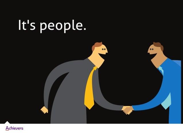 It's people.