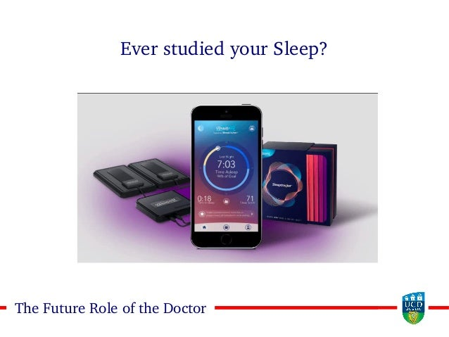 1818The Future Role of the Doctor Ever studied your Sleep?