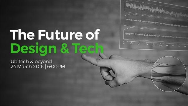 -TheFutureSeries Ubitech — Teaching business, design & tech — Power of Design — The rise of the Design Class — Psychology ...