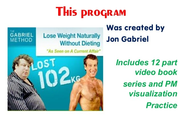 This program Was created by Jon Gabriel Includes 12 part video book series and PM visualization Practice