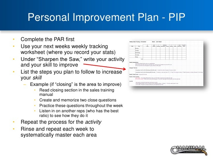 The Game Of Work Sales By The Numbers – Personal Improvement Plan Examples