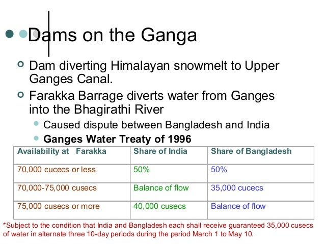 ganges river flow benefits for bangladesh Flow of the ganges in bangladesh  it is located close to the point where the main flow of the river enters bangladesh,  global warming benefits.