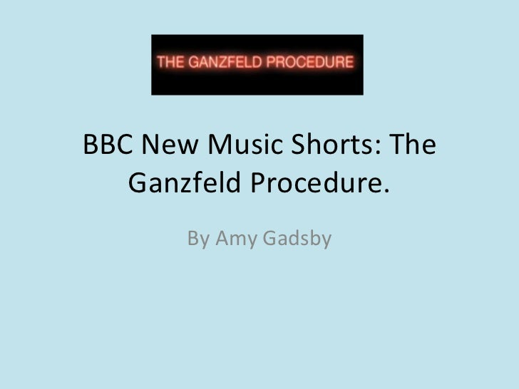 BBC New Music Shorts: The Ganzfeld Procedure. By Amy Gadsby