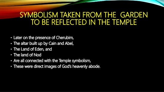 The Garden Temple In The Land Of Eden Autosaved