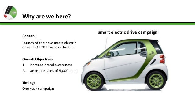 new car launches of 2013Smart EV launch campaign 2013