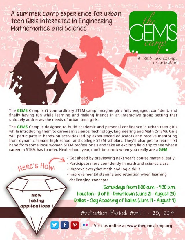 The GEMS Camp 2014