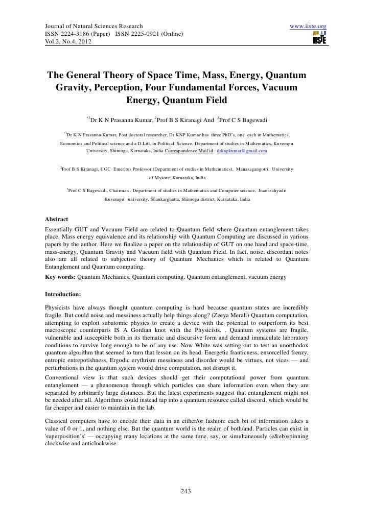 Journal of Natural Sciences Research                                                                                    ww...