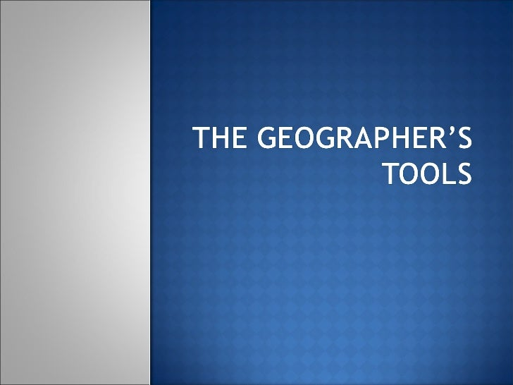    Geographers use 2- and    3- dimensional tools to    learn about the earth.   Geographers use    computer assisted   ...