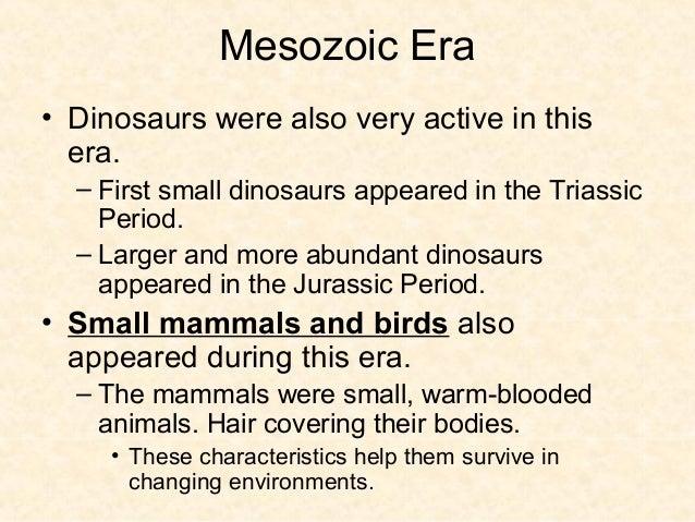 Mesozoic Mammals