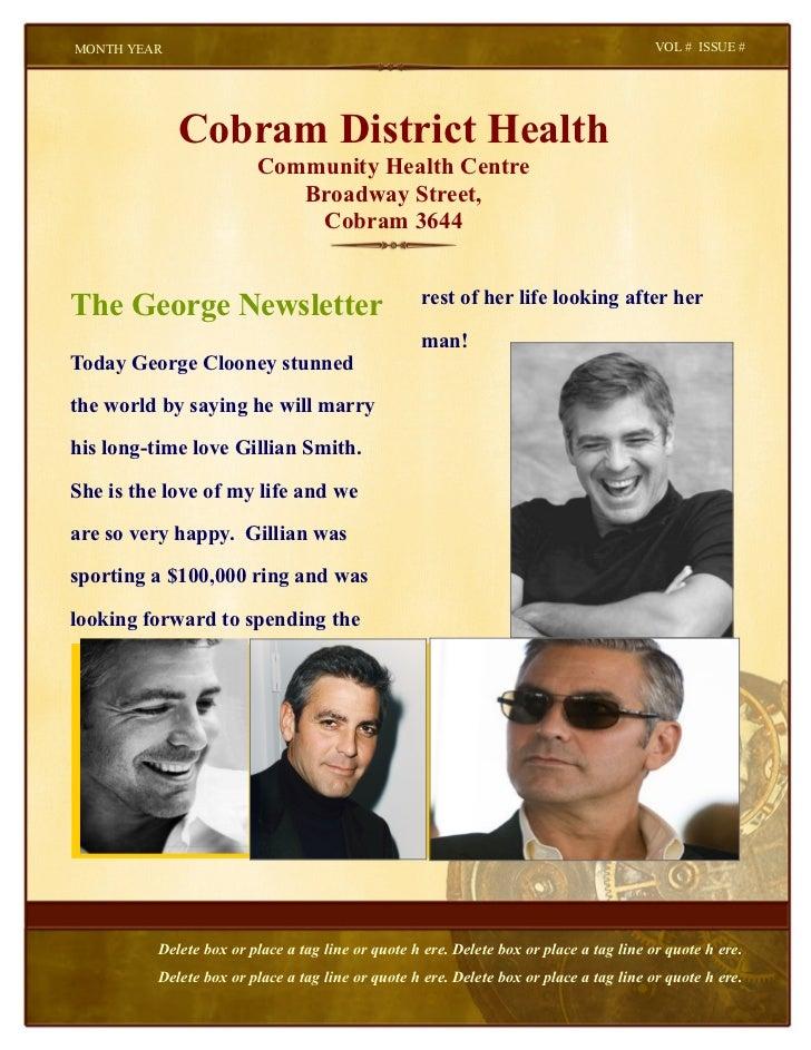 MONTH YEAR                                                                                VOL # ISSUE #             Cobram...