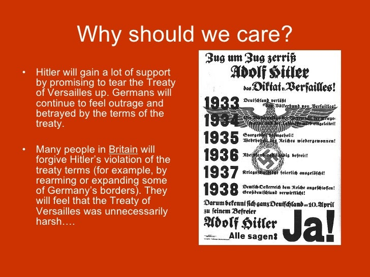 the treaty of versailles should not be abolished in germany Treaty of versailles questions and answers the us senate did not ratify the treaty of versailles was the fact that the treaty blamed germany for.