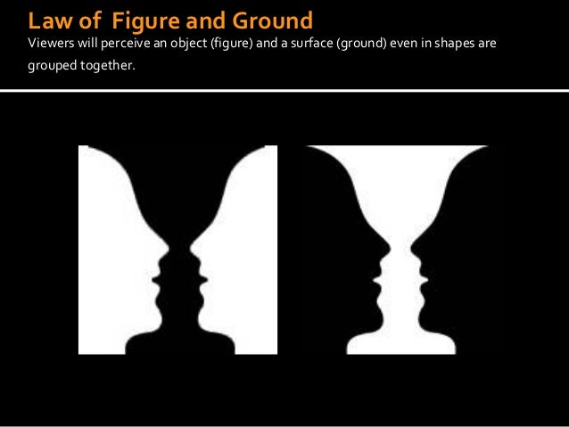 how to make an image using figure and ground