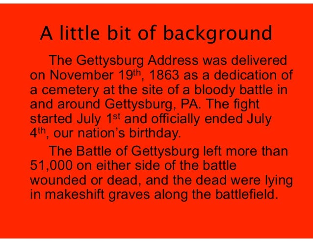 gettysburg conclusion 12 facts about gettysburg, pa,  their retirement and purchased a 189-acre farm adjacent to gettysburg battlefield at the conclusion of his.