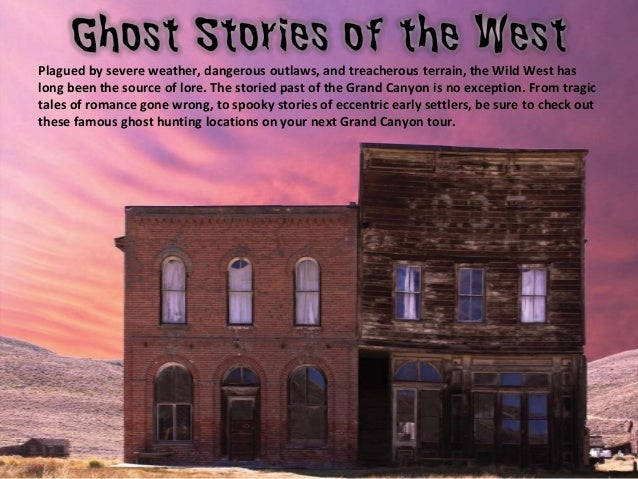 The Ghost Hunter's Guide to the Grand Canyon Slide 2