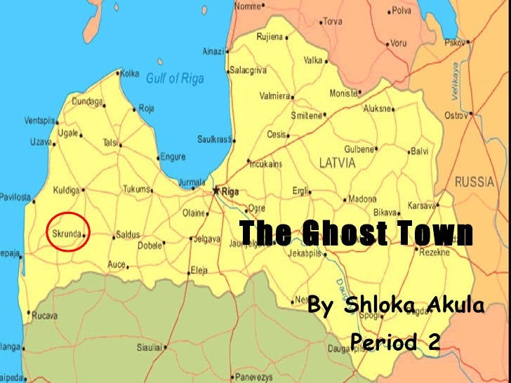 The Ghost Town By Shloka Akula  Period 2