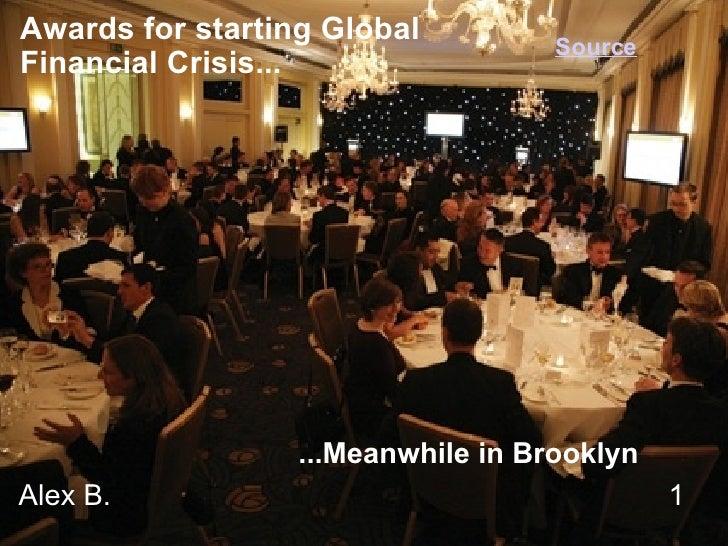 Alex B.1  Awards for starting Global  Financ...