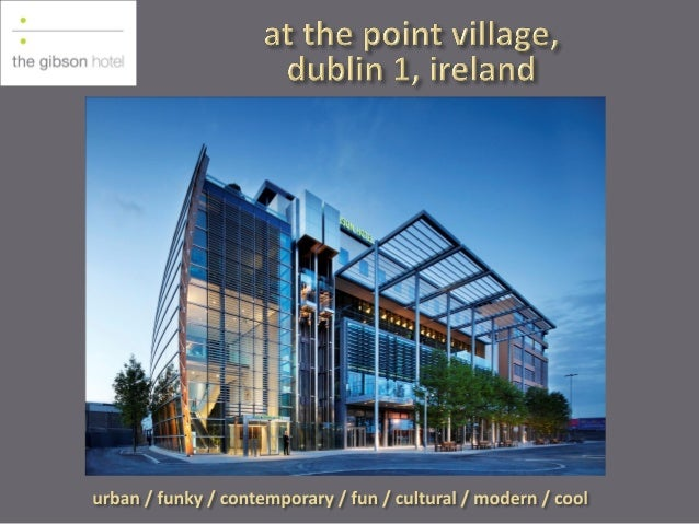 The O2 – approx 150 events per annum Convention Centre Dublin CCD – one tram stop away, less than 5 minutes  The Port Tunn...