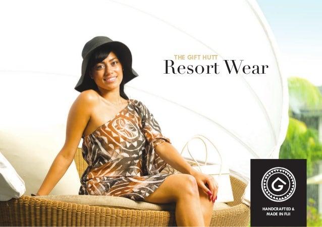 THE GIFT HUTT  Resort Wear  HANDCRAFTED & MADE IN FIJI