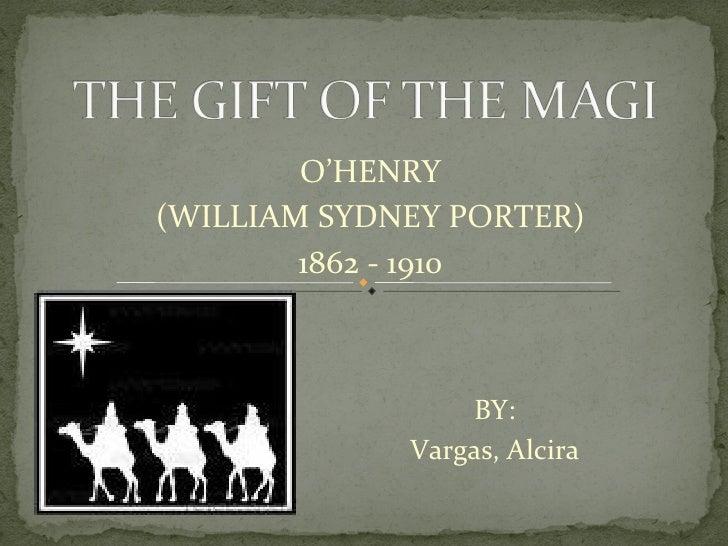 O'HENRY (WILLIAM SYDNEY PORTER) 1862 - 1910 BY: Vargas, Alcira