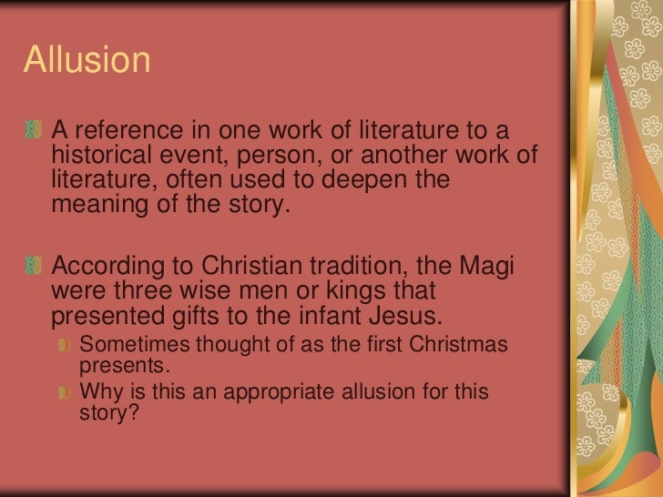 "the gift of the magi literary terms ""the gift of the magi"" o henry 2"