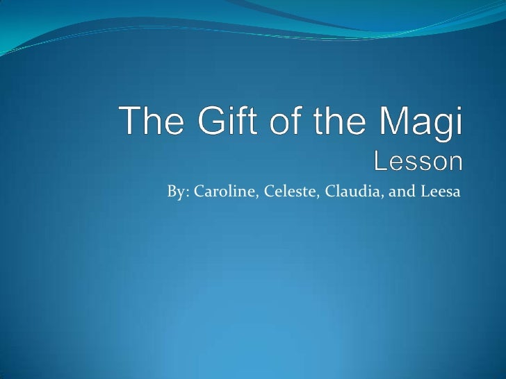 the gift of the magi essay prompt The gift of the magi is based on a short story by o henry for licensing inquiries  or to request a quote, please contact tams-witmark music library today.