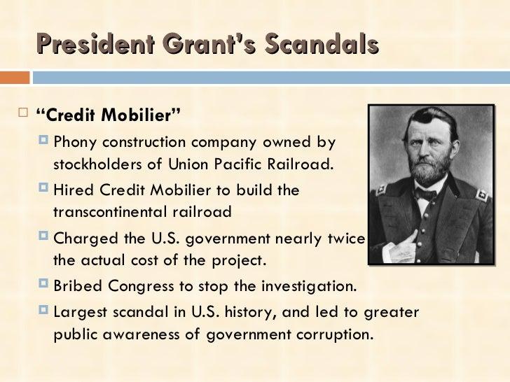 presidential scandals essay