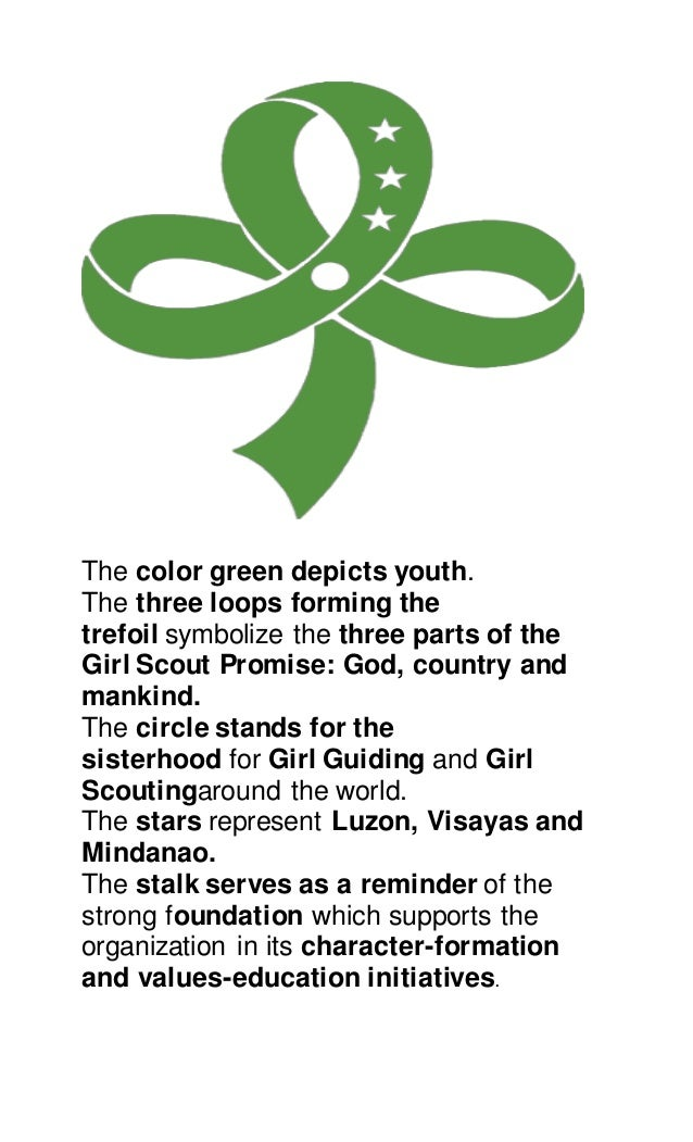 The girl scout promise and the girl scout law